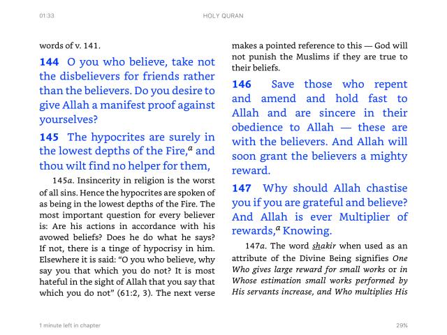 Quran4.144